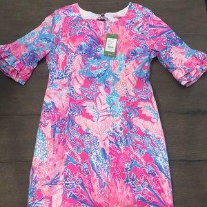 NWT Lilly Pulitzer Fiesta Stretch Dress, Size 10